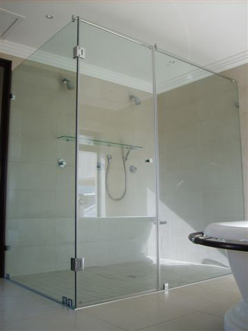 Bathroom Doors Cape Town creative glass concepts - frameless